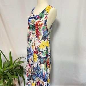 Papa Vancouver light weight floral dress   OS